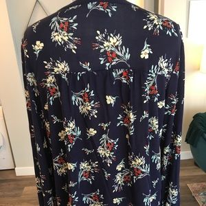 one september Tops - One September- bohemian flowy blouse